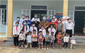 Xã vùng cao Thành Sơn (Thanh Hóa): Đón nhận công trình 2 lớp học do nhà hảo tâm tài trợ