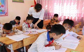 Lai Châu tăng cường dạy tiếng Việt cho học sinh dân tộc thiểu số