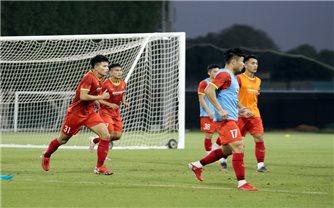 U23 Việt Nam dốc sức tập luyện tại UAE, hướng tới vòng loại U23 châu Á 2022
