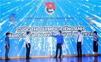 15 thí sinh vào chung kết Cuộc thi Olympic tiếng Anh dành cho cán bộ trẻ lần thứ III