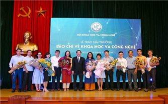 Công bố Giải thưởng Báo chí về khoa học và công nghệ năm 2020