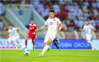 Nguyễn Tiến Linh giành danh hiệu cầu thủ xuất sắc nhất tháng 10 tại vòng loại thứ 3 World Cup 2022