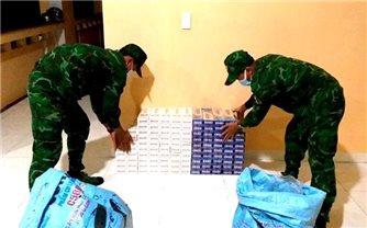 BĐBP An Giang: Thu giữ 2.000 gói thuốc lá ngoại nhập lậu