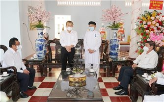 """Tây Ninh: Công tác """"dân vận khéo"""" trong đồng bào DTTS, tôn giáo góp phần phát triển kinh tế - xã hội"""