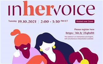 """""""In her voice"""" trao quyền cho nhà làm phim nữ"""