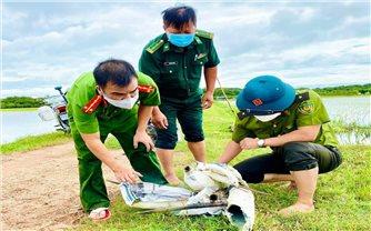 Phá hủy hàng nghìn bẫy cò trên cánh đồng huyện Quảng Trạch