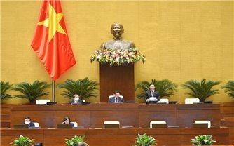 Chiều 23/10: Quốc hội thảo luận trực tuyến một số báo cáo