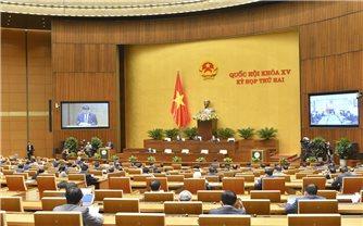 Quốc hội nghe báo cáo thẩm tra về dự án Luật Điện ảnh và Luật Thi đua, khen thưởng (sửa đổi)