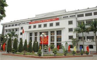 Chủ tịch nước gửi thư chúc mừng 70 năm truyền thống Học viện Chính trị-Bộ Quốc phòng