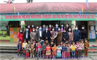 Ấn Độ hỗ trợ dự án xây trường học tại Sa Pa