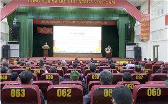Mường Nhé (Điện Biên): Tập huấn tuyên truyền, phổ biến giáo dục pháp luật cho Người có uy tín