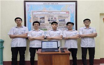 Học sinh Việt Nam đoạt giải Vàng tại Cuộc thi Sáng tạo khoa học kỹ thuật quốc tế 2021