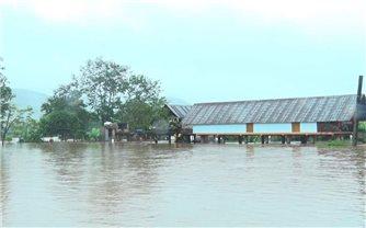 Đắk Lắk: Mưa lớn gây ngập lụt ở nhiều địa phương
