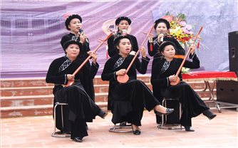 Loại hình Then văn nghệ đang có xu hướng phát triển mạnh ở Bắc Giang