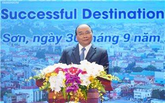 Thủ tướng Nguyễn Xuân Phúc dự Hội nghị Xúc tiến đầu tư tỉnh Lạng Sơn