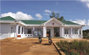Ia Grai (Gia Lai): Trạm y tế hơn 3 tỷ đồng chưa bàn giao đã nứt nẻ
