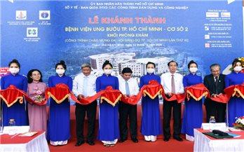 TP.HCM khánh thành Bệnh viện Ung bướu cơ sở 2 theo tiêu chuẩn quốc tế