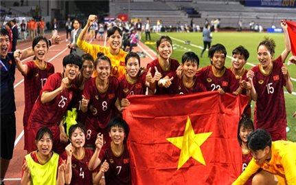 Thắng quả cảm Thái Lan, đội tuyển nữ Việt Nam lần thứ 6 vô địch SEA Games