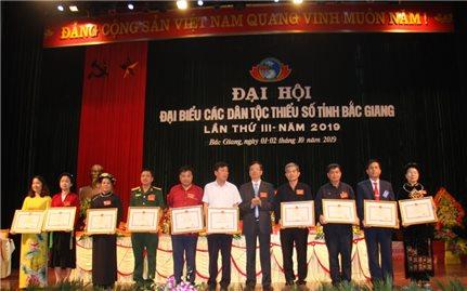 Đại hội Đại biểu các DTTS tỉnh Bắc Giang lần thứ III, năm 2019: Ngày hội của đồng bào các DTTS