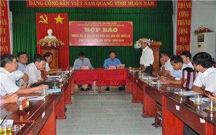 250 đại biểu tham dự Đại hội Đại biểu các dân tộc thiểu số tỉnh Bình Phước lần thứ III