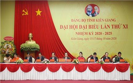 Khai mạc Đại hội Đảng bộ tỉnh Kiên Giang lần thứ XI