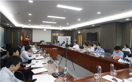 UBDT: Họp rà soát công tác chuẩn bị Đại hội Đại biểu toàn quốc các DTTS Việt Nam lần thứ II năm 2020