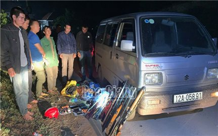 Bắc Giang: Xem xét xử lý 6 đối tượng mang theo súng tự chế