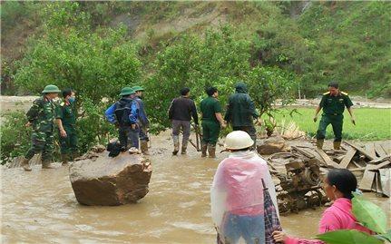 Lai Châu: Mưa đá, gió lốc làm 2 người chết, 1 người mất tích