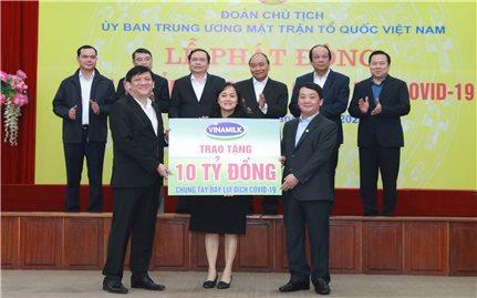 Công ty Cổ phẩn Sữa Việt Nam (Vinamilk): Chung tay phòng chống bệnh Covid-19