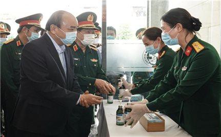 Thủ tướng làm việc với 50 điểm cầu chống dịch trong toàn quân