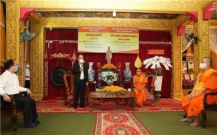 Phó Thủ tướng Thường trực Chính phủ Trương Hòa Bình chúc mừng Tết cổ truyền Chôl Chnăm Thmây