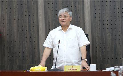 Ủy ban Dân tộc: Xây dựng Dự thảo Quyết định trình Thủ tướng Chính phủ phê duyệt Kế hoạch triển khai thực hiện Nghị quyết của Quốc hội