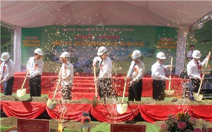 Mù Cang Chải (Yên Bái): Khởi công công trình Trường PTDTBT THCS Khao Mang