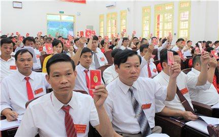 Văn Quan, Lạng Sơn: Tổ chức thành công Đại hội Đảng bộ huyện lần thứ XXIII, nhiệm kỳ 2020 – 2025