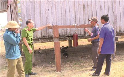 """""""Tiếng kẻng làng Đồn"""" ở xã Chư A Thai"""