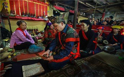 Độc đáo Lễ cấp sắc Then 12 đèn của người Nùng ở Cao Bằng