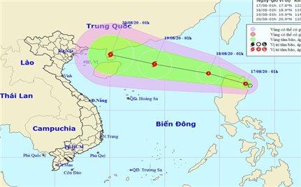 Áp thấp khả năng mạnh thành bão đang hướng vào Biển Đông