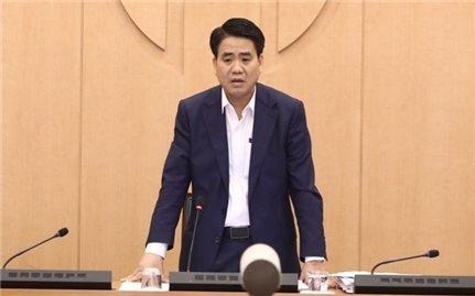 Khởi tố, bắt tạm giam Chủ tịch UBND TP. Hà Nội Nguyễn Đức Chung