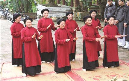 Phú Thọ: Bảo tồn phát huy di sản hát Xoan