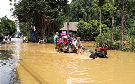 Huyện Lục Yên (Yên Bái): Mưa lũ gây ngập úng, thiệt hại nhiều tài sản, hoa màu