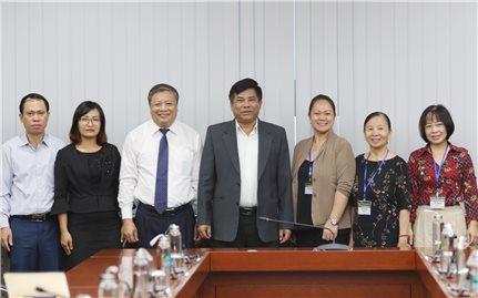 Thứ trưởng, Phó Chủ nhiệm Ủy ban Dân tộc Y Thông tiếp và làm việc với Giám đốc Quốc gia Habitat tại Việt Nam