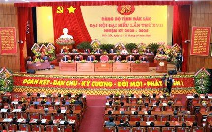 Khai mạc Đại hội Đại biểu Đảng bộ tỉnh Đăk Lăk lần thứ XVII, nhiệm kỳ 2020-2025