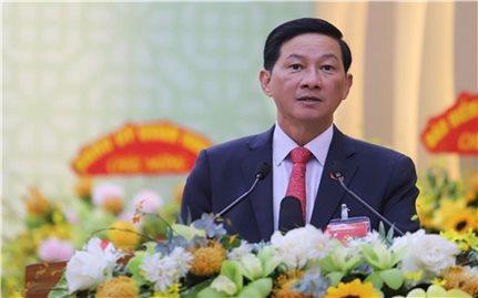 Đồng chí Trần Đức Quận được bầu giữ chức Bí thư Tỉnh ủy Lâm Đồng