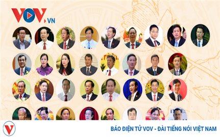 Danh sách 33 Bí thư tỉnh, thành trúng cử trong tuần từ 12-18/10/2020