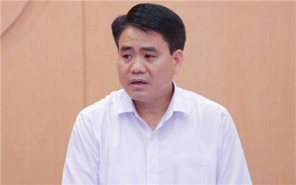 Truy tố nguyên Chủ tịch UBND TP. Hà Nội Nguyễn Đức Chung