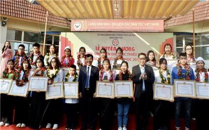 Lễ tuyên dương HS-SV DTTS Thủ đô xuất sắc tiêu biểu năm học 2019-2020