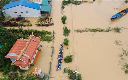 Hỗ trợ 670 tỷ đồng khắc phục hậu quả bão, lũ cho miền Trung và Tây Nguyên