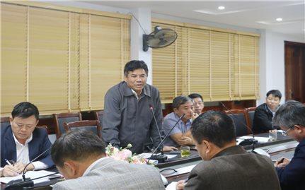 Đoàn công tác của Ủy ban Dân tộc làm việc với tỉnh Điện Biên