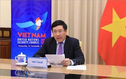 Việt Nam đoàn kết với quốc tế ứng phó với đại dịch COVID-19