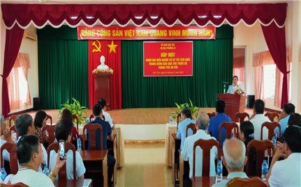 Vụ Địa phương III (UBDT): Gặp mặt Đoàn Đại biểu Người có uy tín TP. Hà Nội